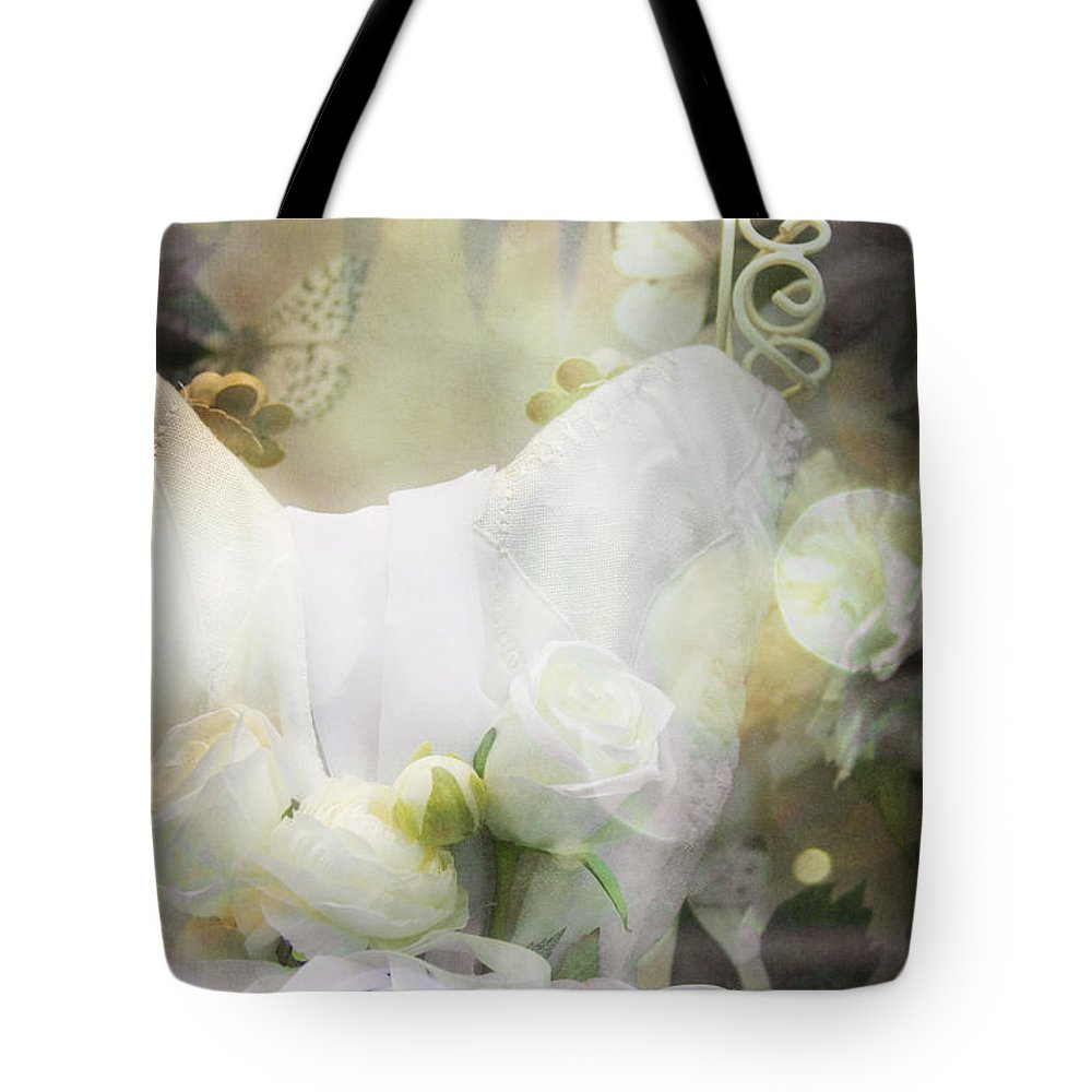Antique Tote Bag featuring the photograph Prim by Margie Hurwich