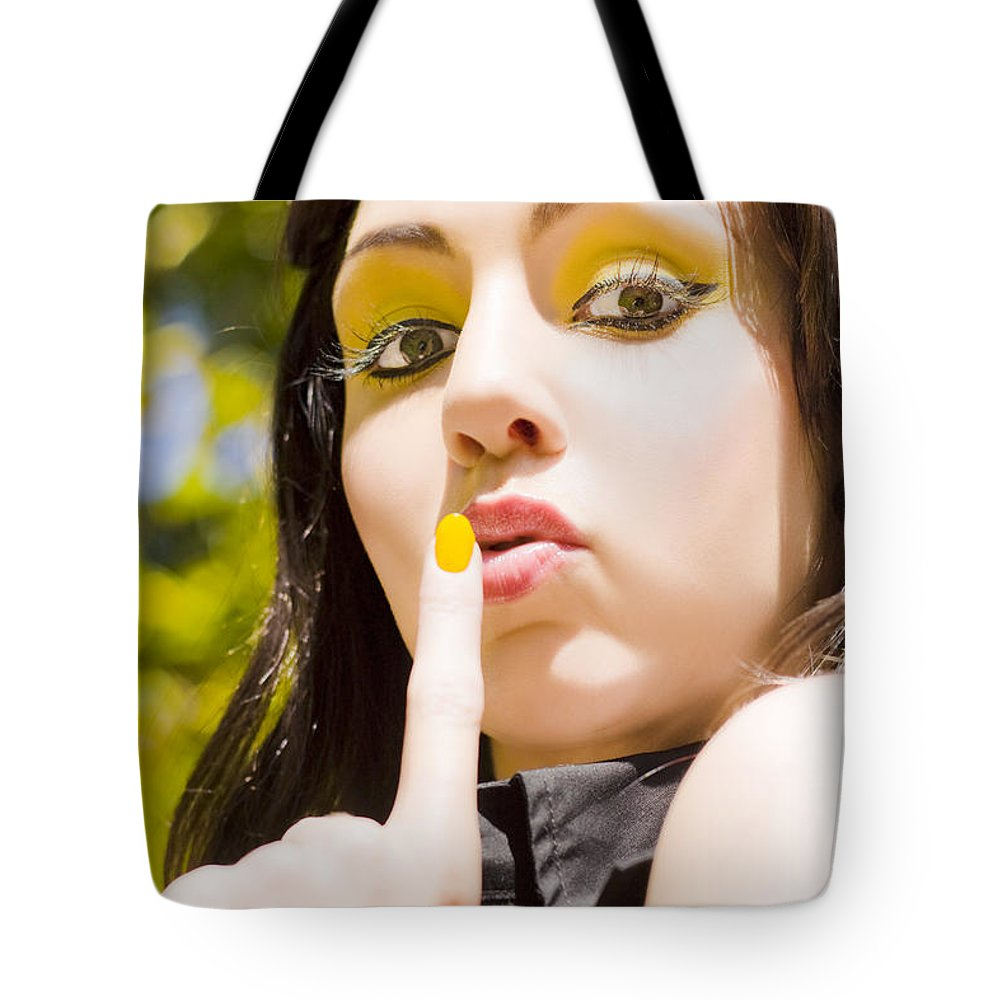 Caucasian Tote Bag featuring the photograph Quiet Whisper by Jorgo Photography - Wall Art Gallery