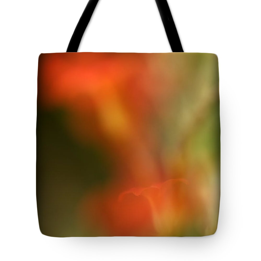 Red Tote Bag featuring the photograph Red Dreams by Guido Montanes Castillo
