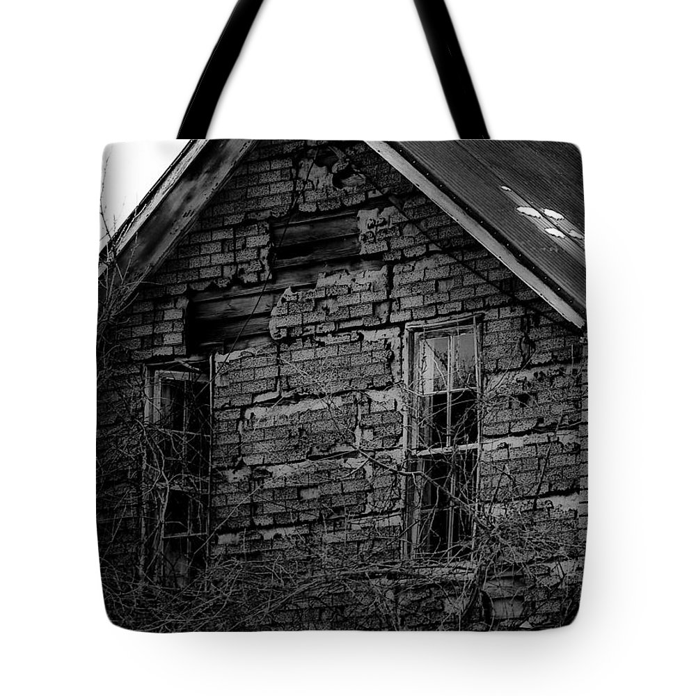 Old Tote Bag featuring the photograph Redrum by Tara Lynn