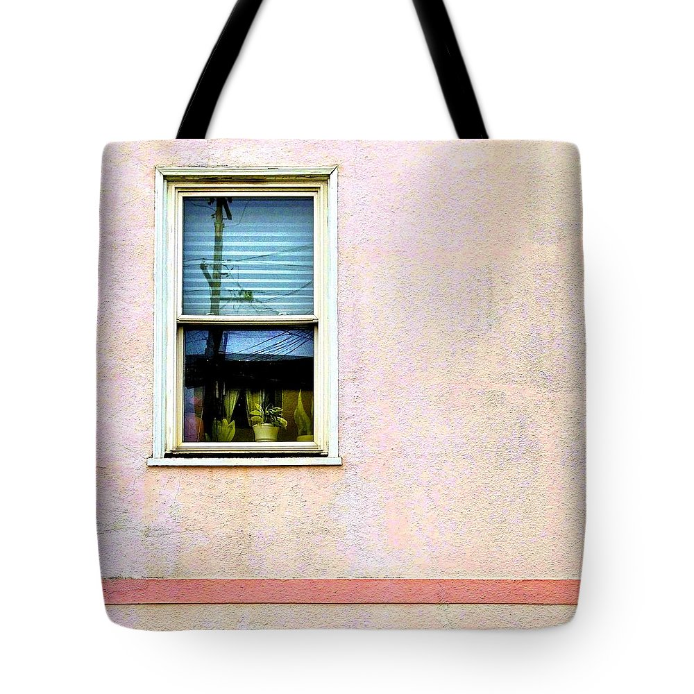 Pink Tote Bag featuring the photograph Reflection by Julie Gebhardt