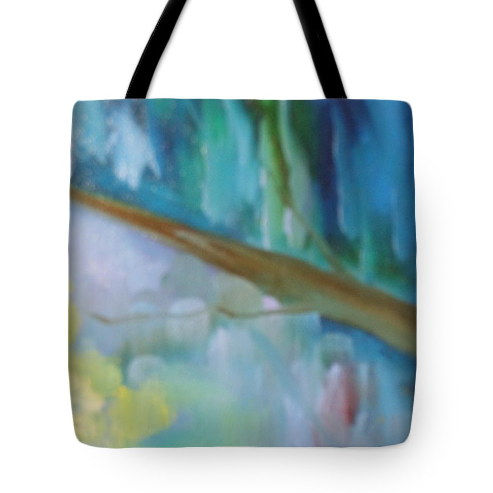 Water Tote Bag featuring the painting Roads by Lord Frederick Lyle Morris - Disabled Veteran