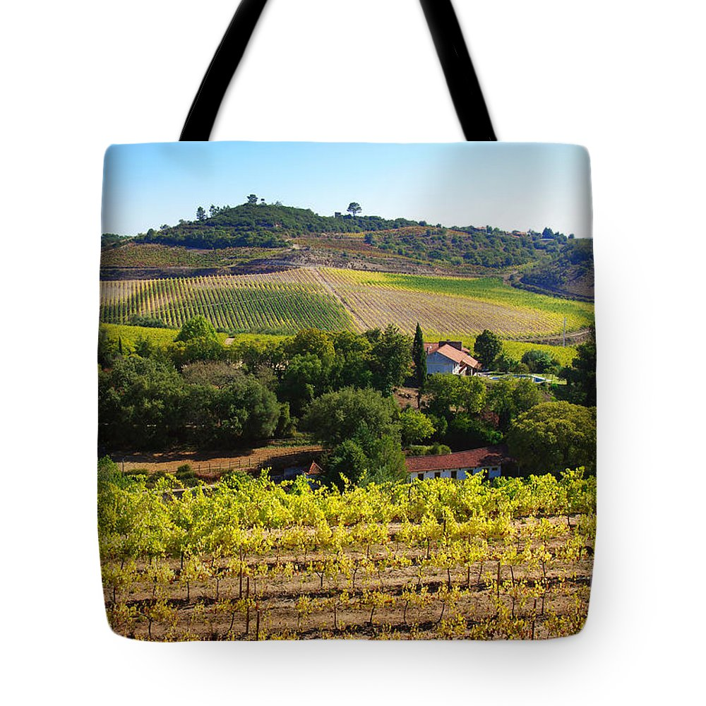 Agriculture Tote Bag featuring the photograph Rural Landscape by Carlos Caetano