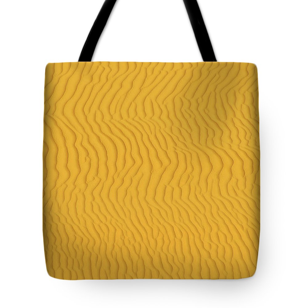 Sand Dune Tote Bag featuring the photograph Sand Dune Patterns by Raimund Linke