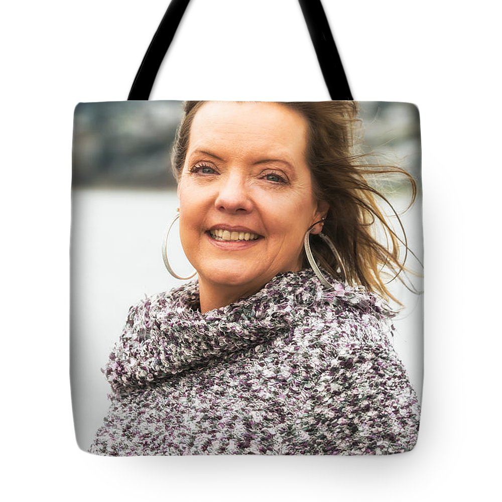 Portrait Tote Bag featuring the photograph Shara by Sabine Edrissi