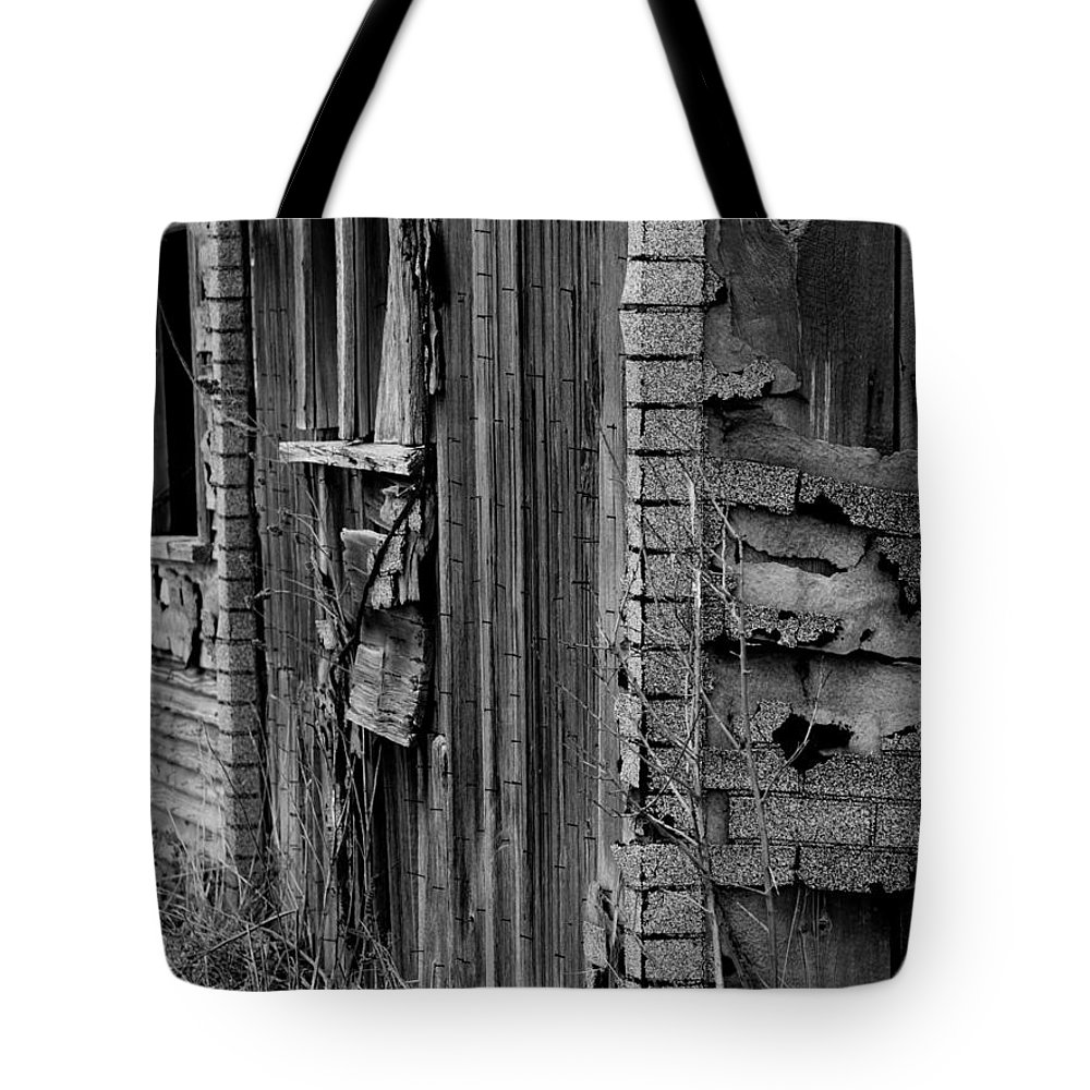 Old Tote Bag featuring the photograph Shingles by Tara Lynn