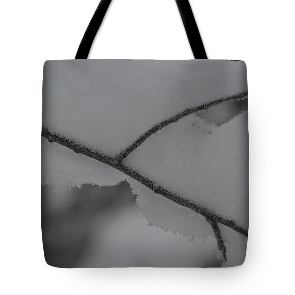 Snow Tote Bag featuring the photograph Snow Load by Brian Boyle