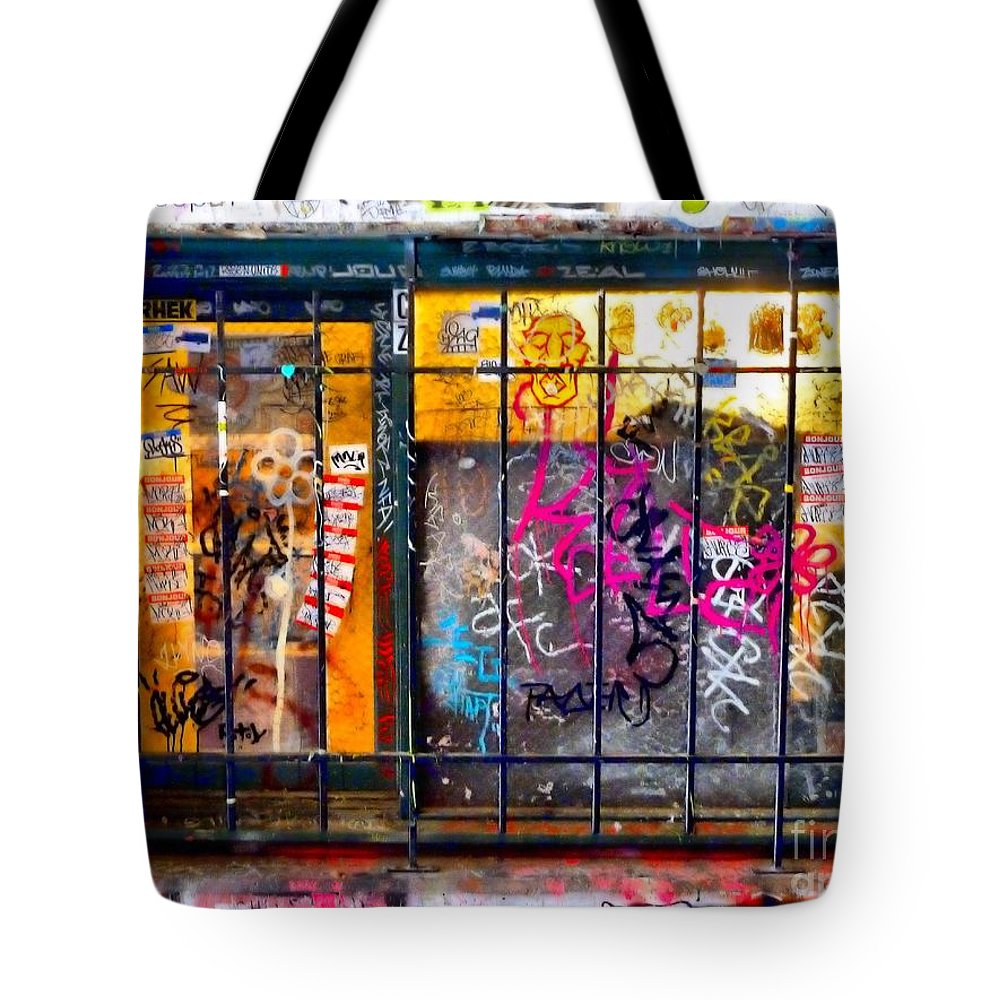 Abstract Tote Bag featuring the photograph Social Conscience by Lauren Leigh Hunter Fine Art Photography