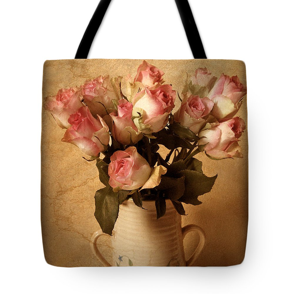 Roses Tote Bag featuring the photograph Soft Spoken by Jessica Jenney