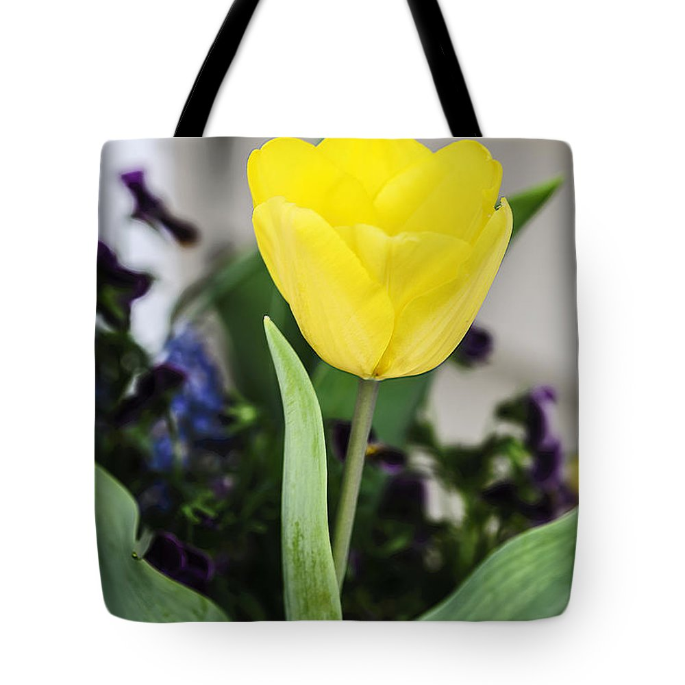 Texture Tote Bag featuring the photograph Soft Yellow by Elvis Vaughn
