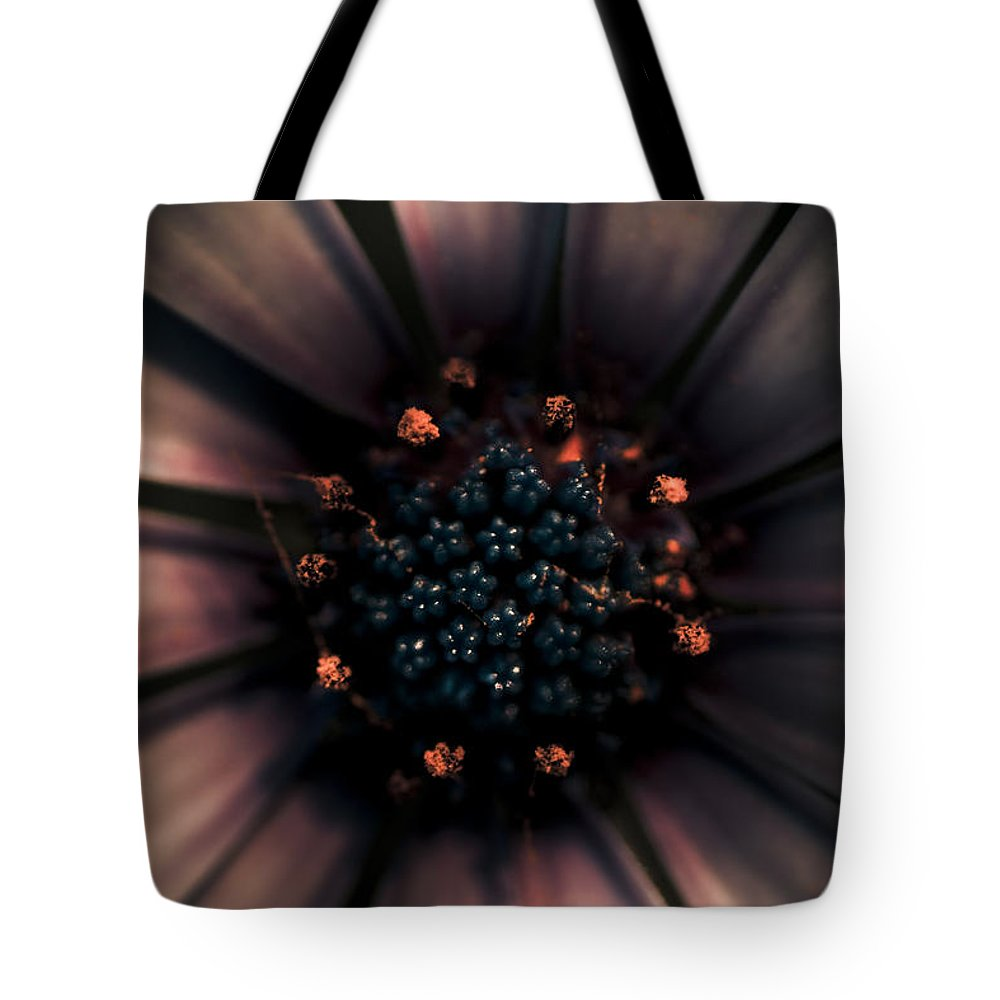Closeup Tote Bag featuring the photograph Spring Darkness by Jorgo Photography - Wall Art Gallery