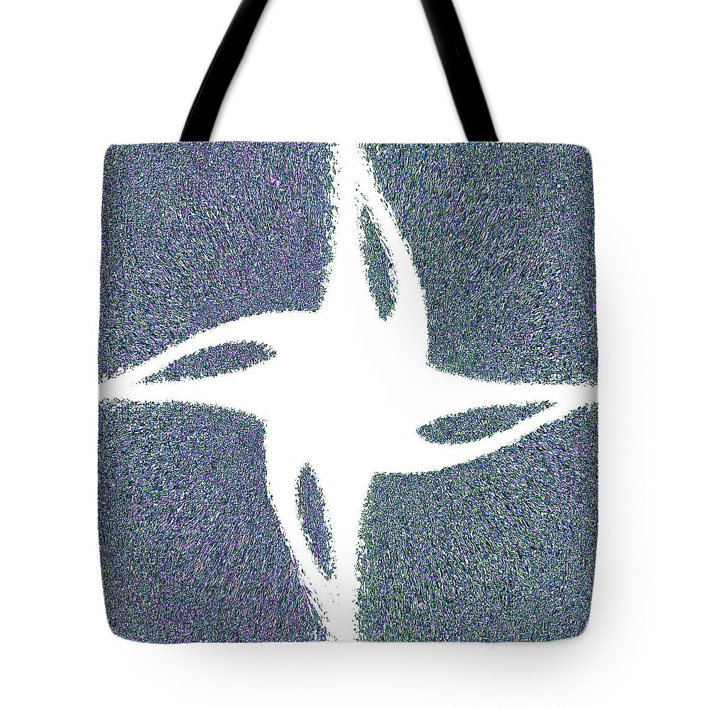 Star Tote Bag featuring the painting Star Dust by Christopher Gaston