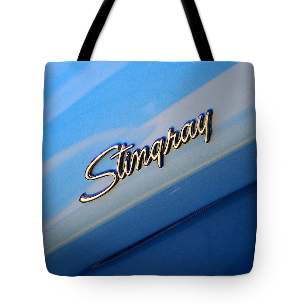 American Muscle Car Tote Bag featuring the photograph Stingray by Mark Spearman
