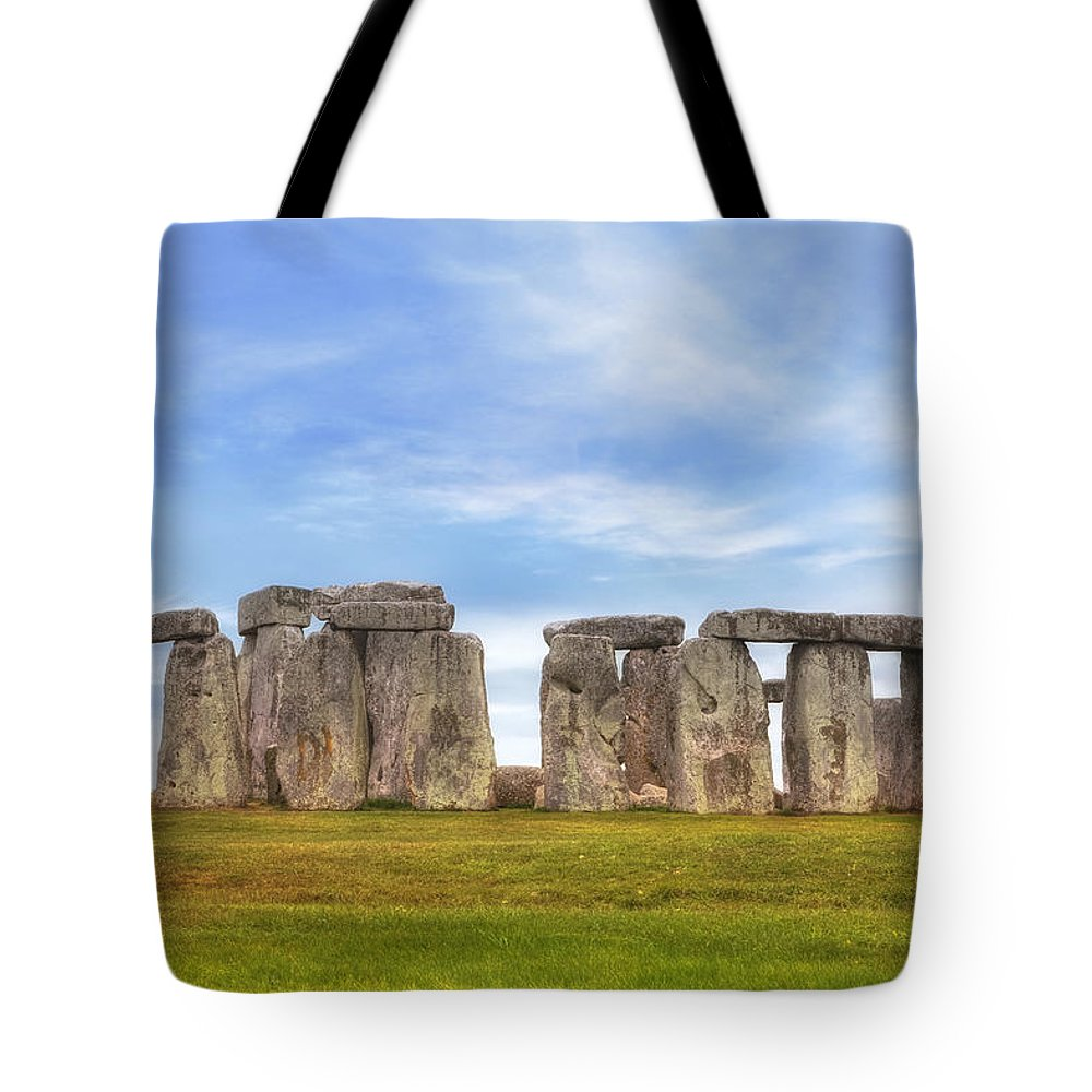 Stonehenge Tote Bag featuring the photograph Stonehenge by Joana Kruse