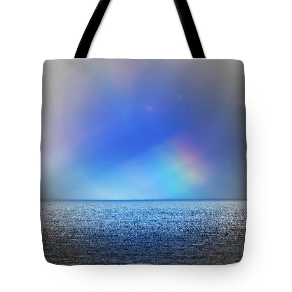 Rainbow Tote Bag featuring the photograph Storm Passing by Kris Hiemstra