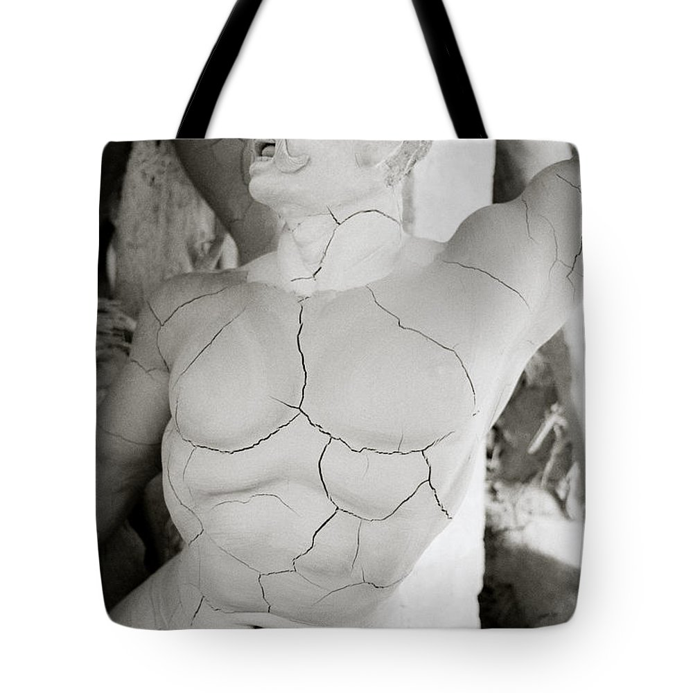 Man Tote Bag featuring the photograph Strength by Shaun Higson