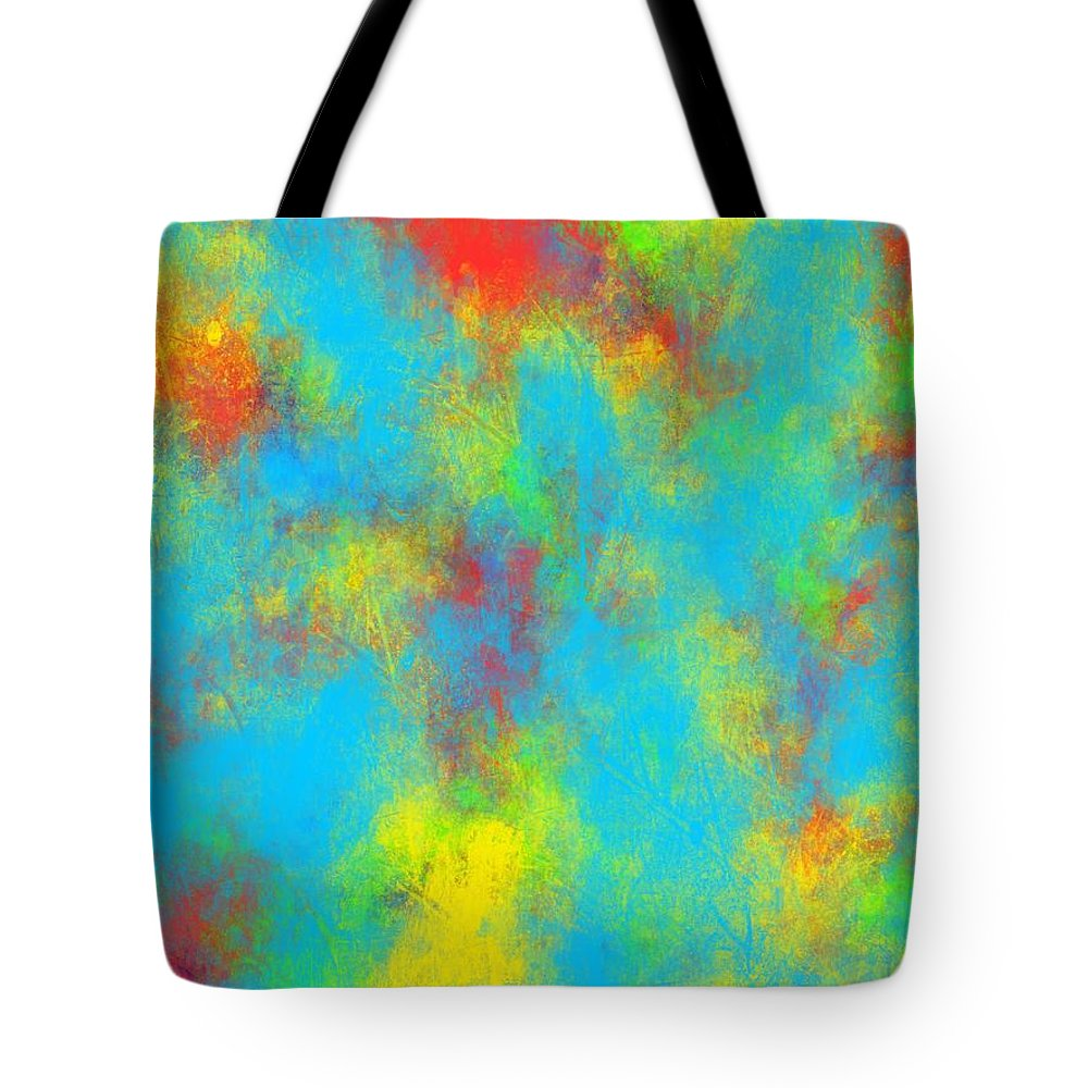 Water Tote Bag featuring the painting Summer by Bill Minkowitz