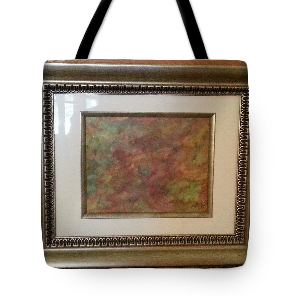 Framed Picture Tote Bag featuring the painting Sunday Morning by Myrtle Joy