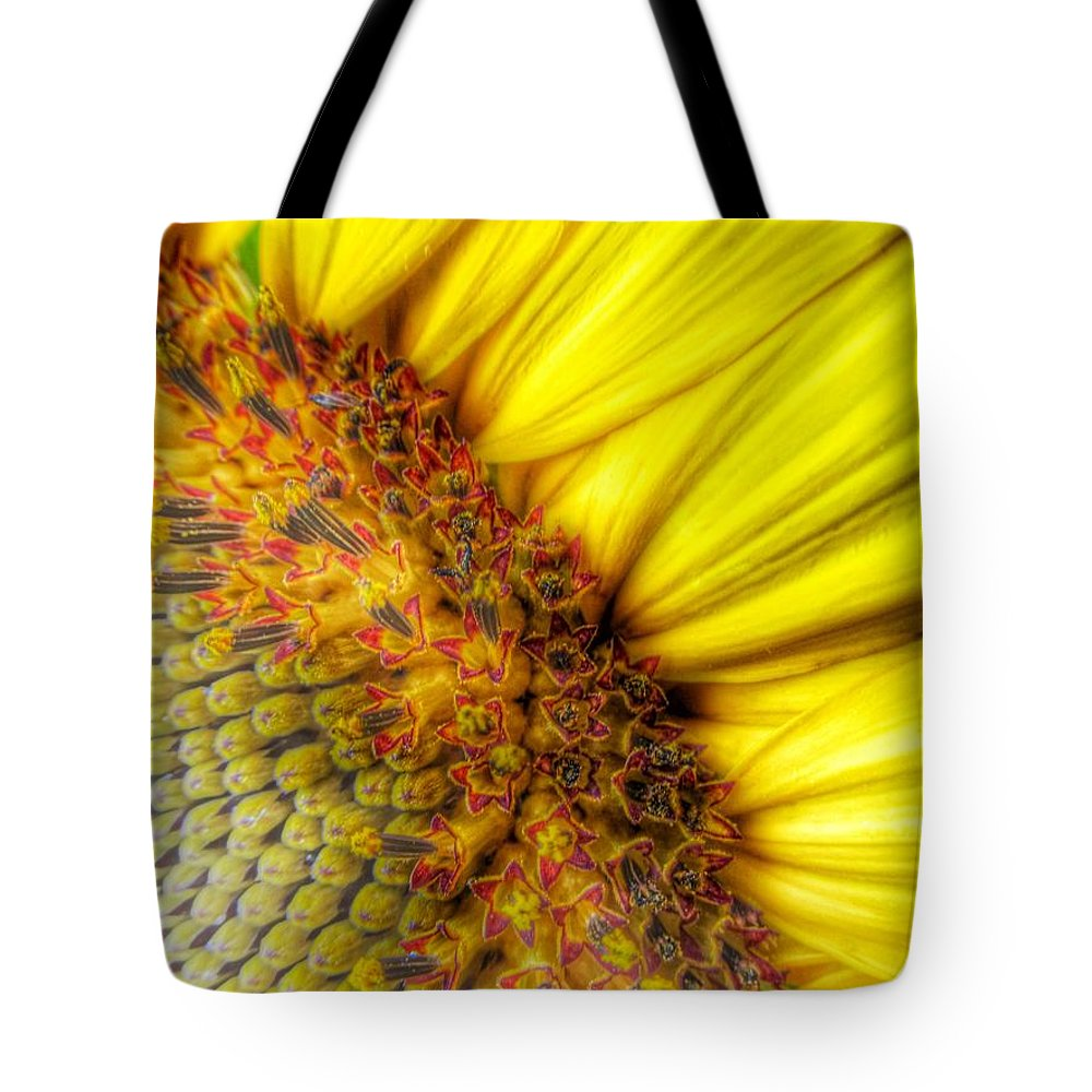 Sunflower Tote Bag featuring the photograph Sunrise by Marianna Mills