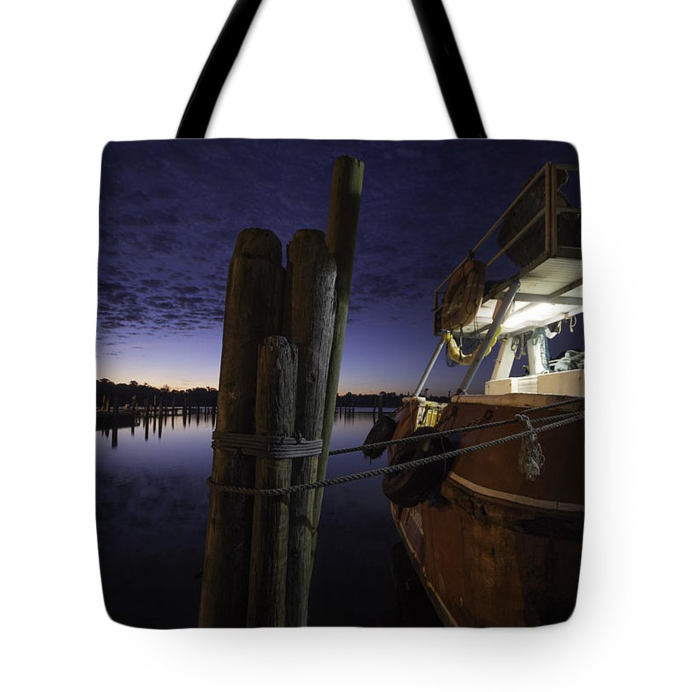 Palm Tote Bag featuring the digital art Sunrise With 62 by Michael Thomas