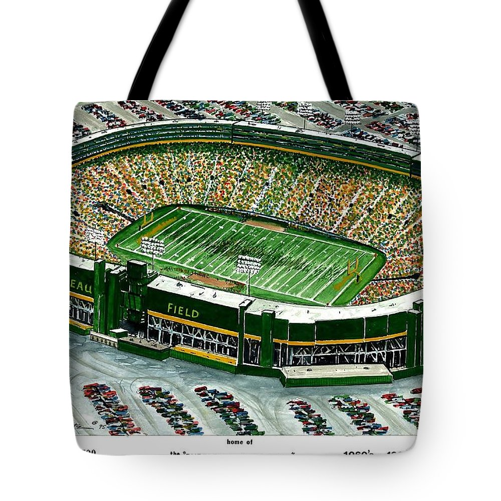 Superbowl Champions Tote Bag featuring the painting Superbowl Champions by Steven Schultz