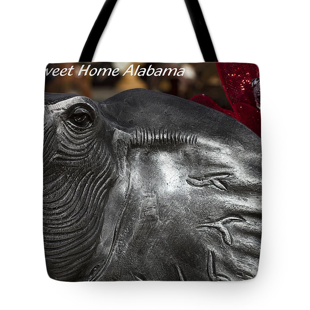 Alabama Football Tote Bag featuring the photograph Sweet Home Alabama by Kathy Clark