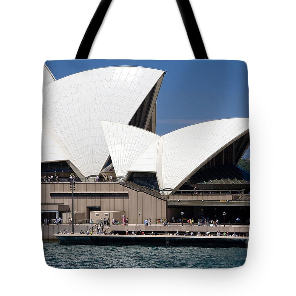 Icon Tote Bag featuring the photograph Sydney Opera House by Martin Berry