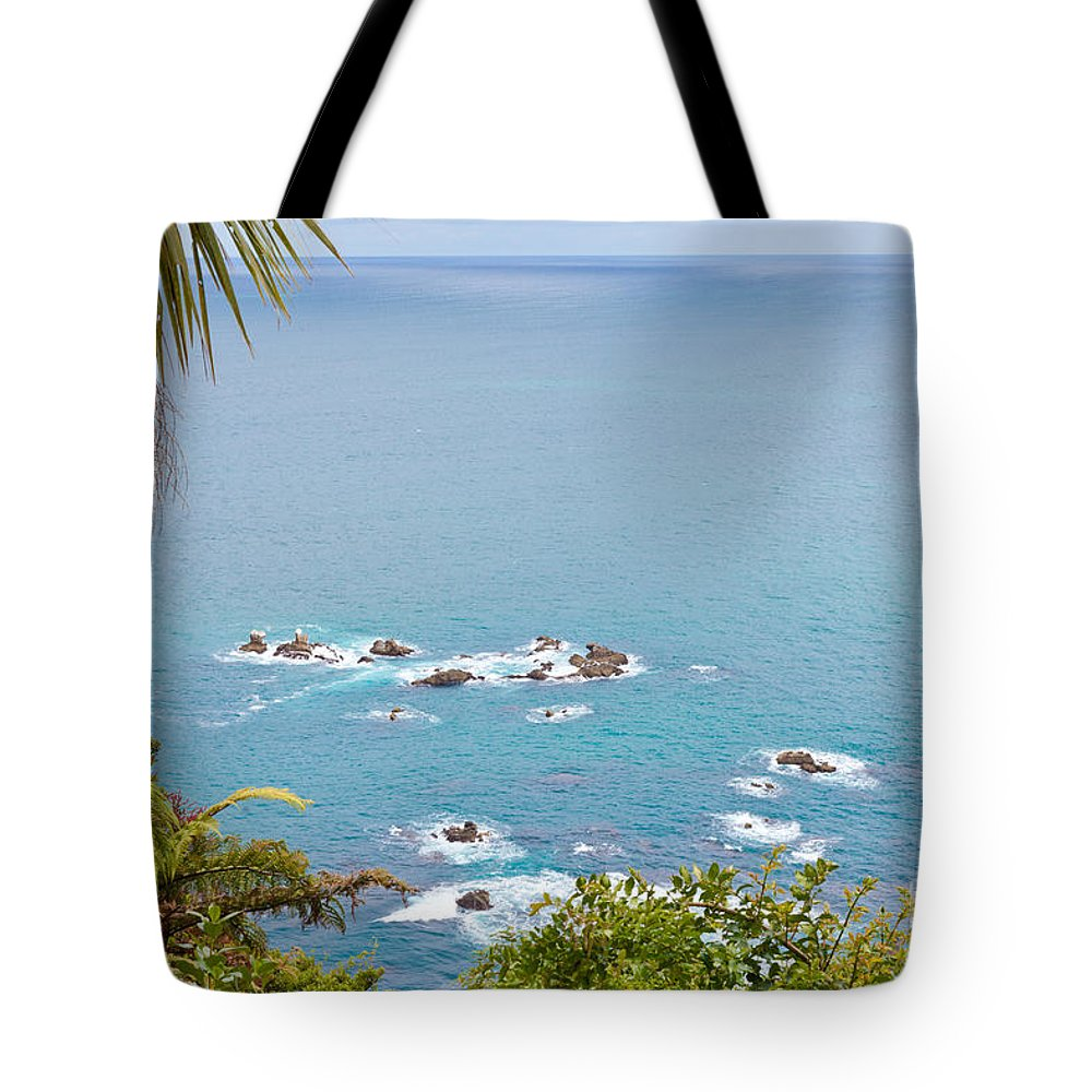 South Island Tote Bag featuring the photograph Tasman Sea At West Coast Of South Island Of New Zealand by Stephan Pietzko