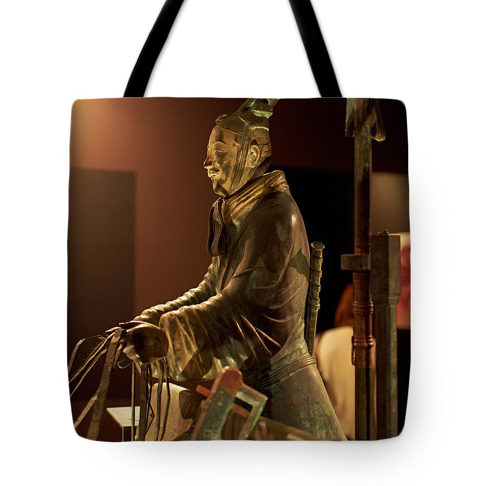 Finland Tote Bag featuring the photograph Terracotta Soldiers by Jouko Lehto