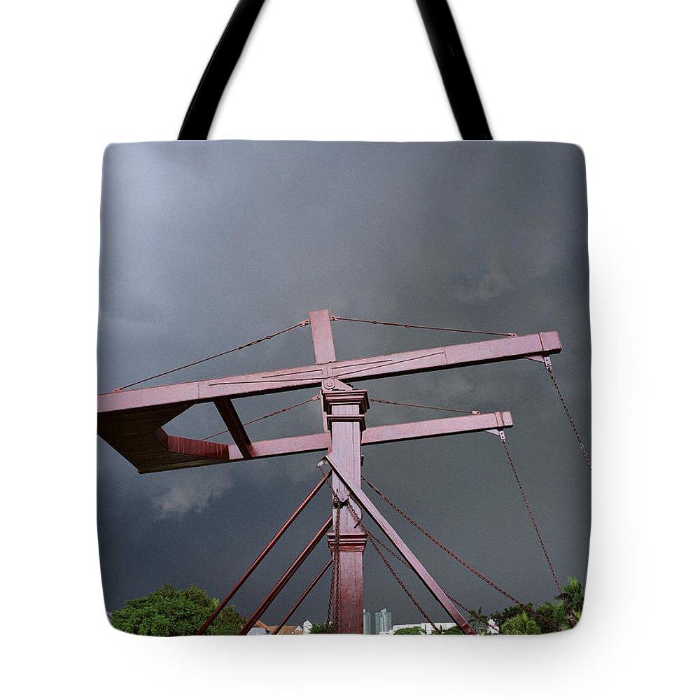 Bridge Tote Bag featuring the photograph The Bridge by Shaun Higson