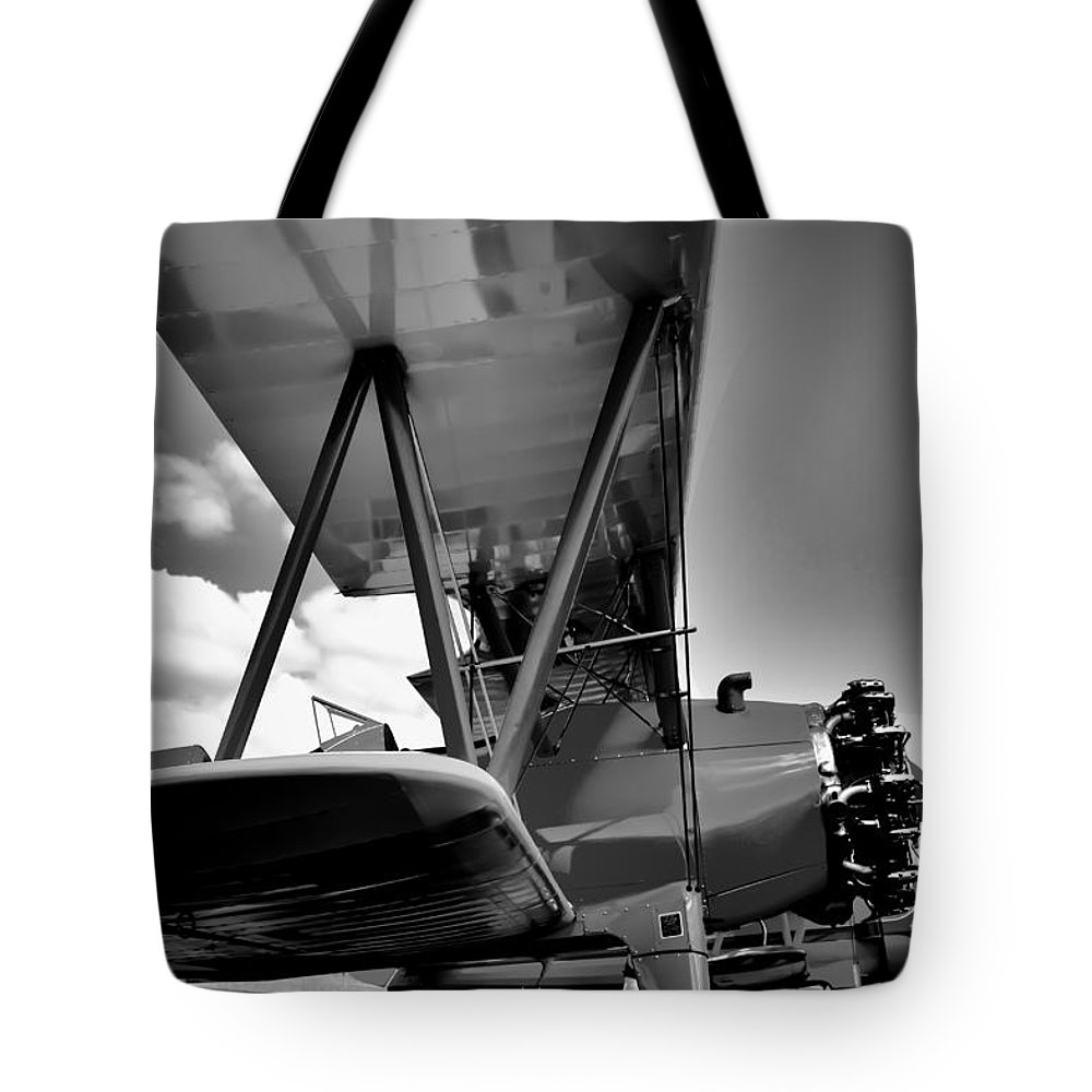 Boeing Stearman C-2 Tote Bag featuring the photograph The Stearman by David Patterson
