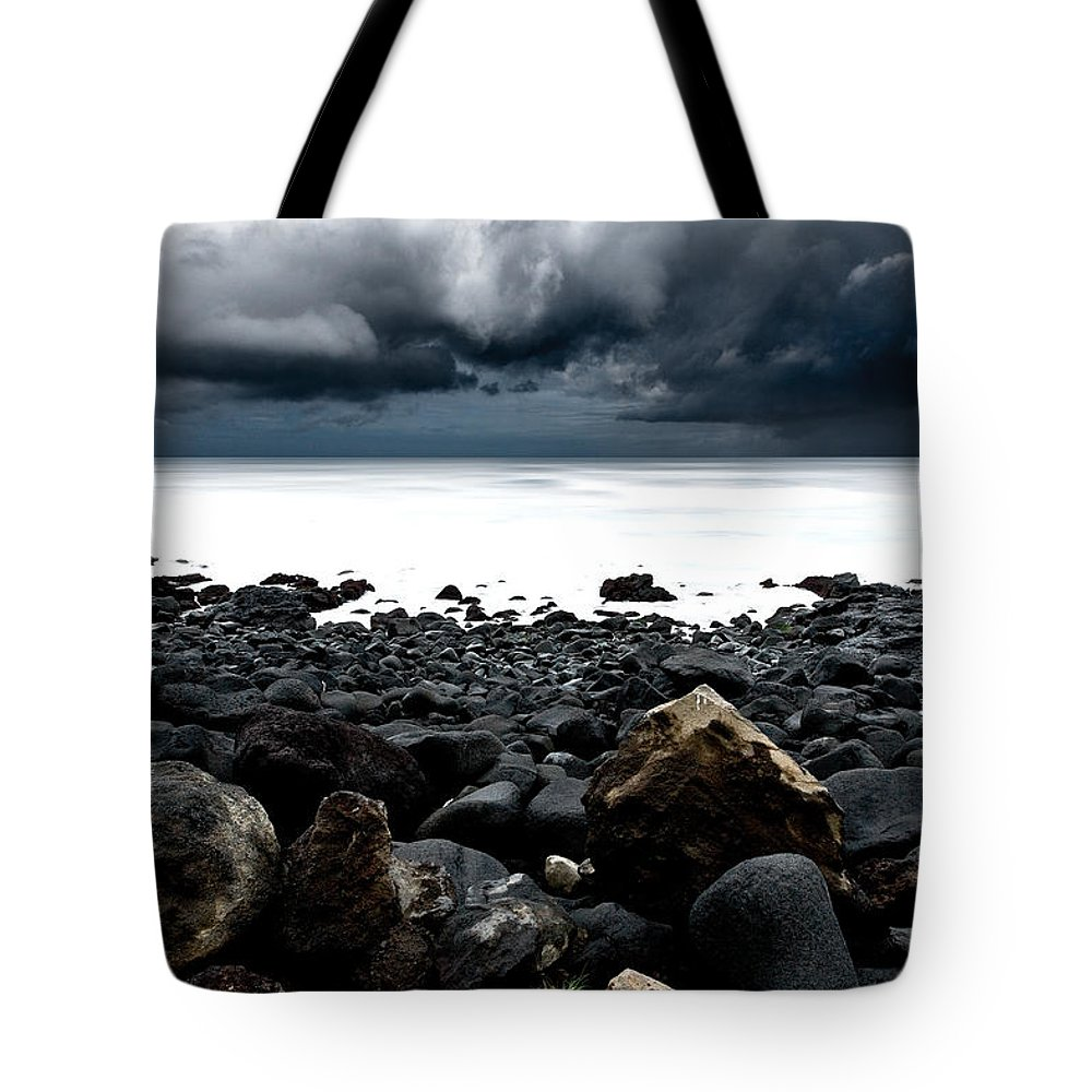 Raw Nature Tote Bag featuring the photograph The Storm by Jorge Maia
