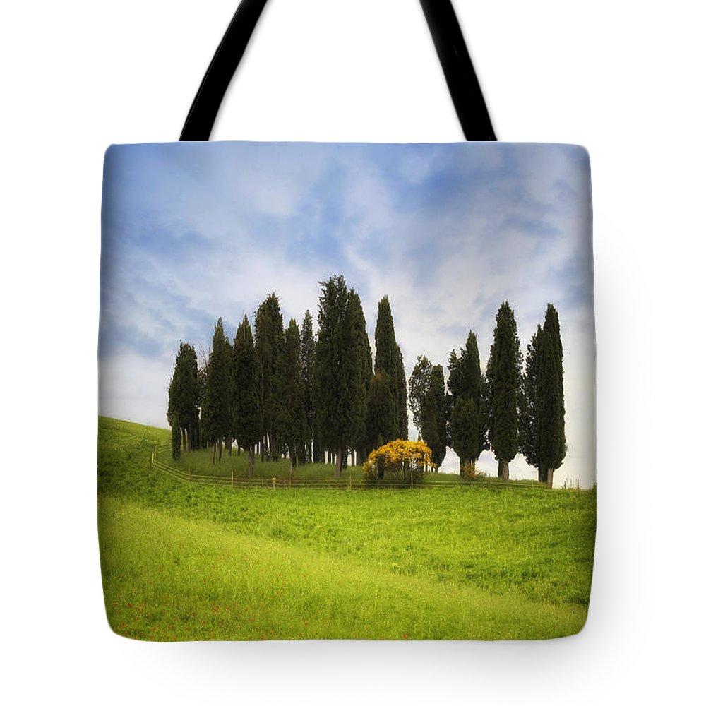 Montalcino Tote Bag featuring the photograph Tuscany - Montalcino by Joana Kruse