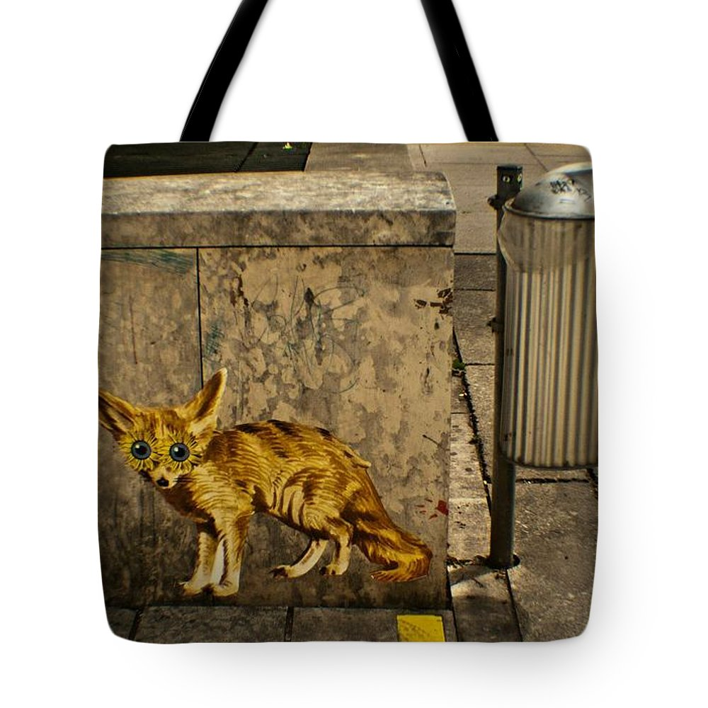 Fox Tote Bag featuring the photograph Untitled by Kathleen Odenthal