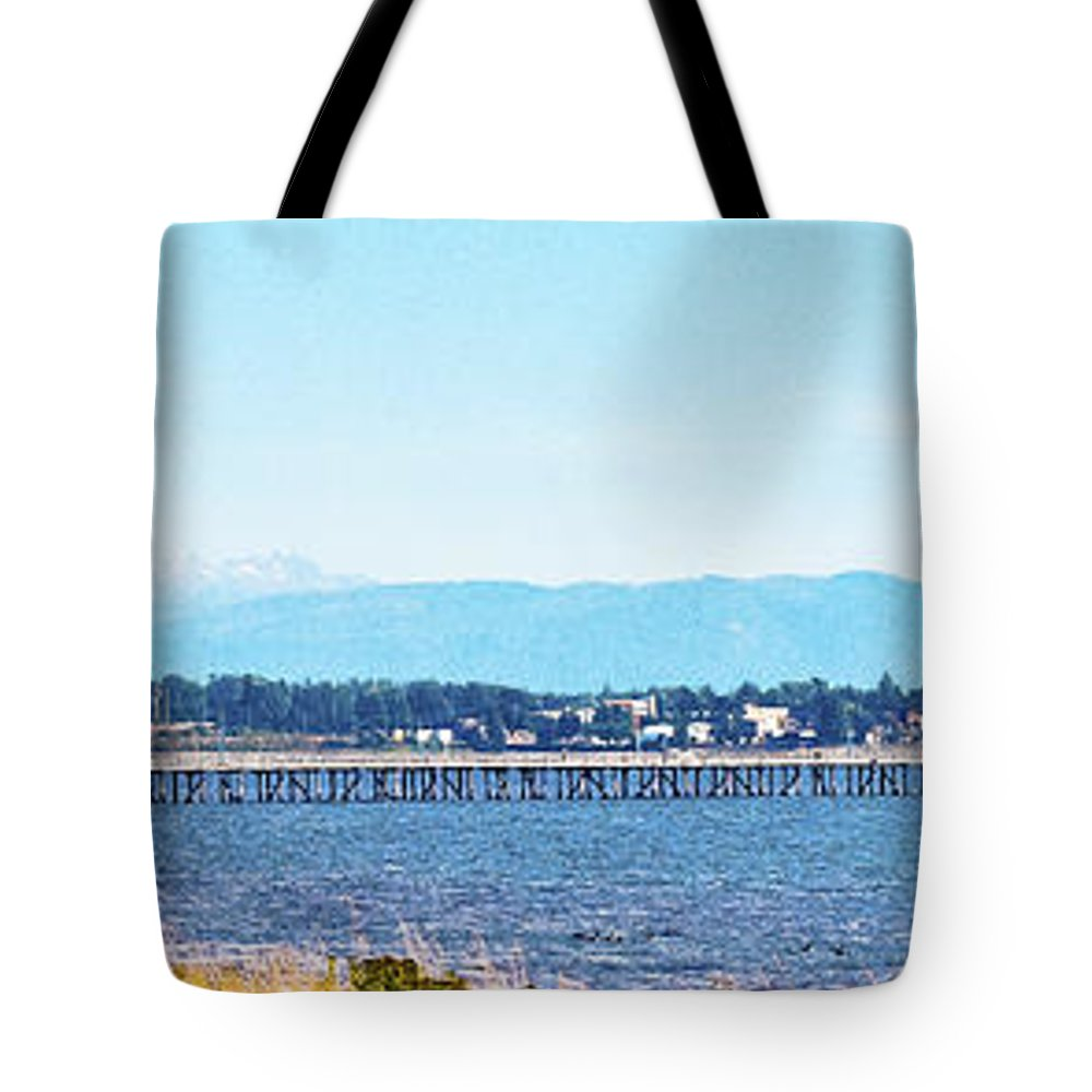Mount Baker Tote Bag featuring the photograph Urban Abstract by David Fabian