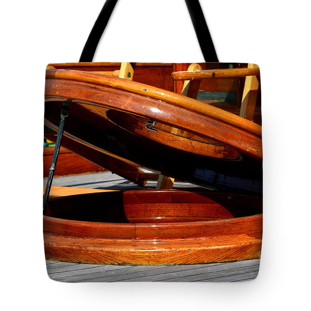 Tote Bag featuring the photograph Vancouver Bc Classic Boats by Dean Ferreira