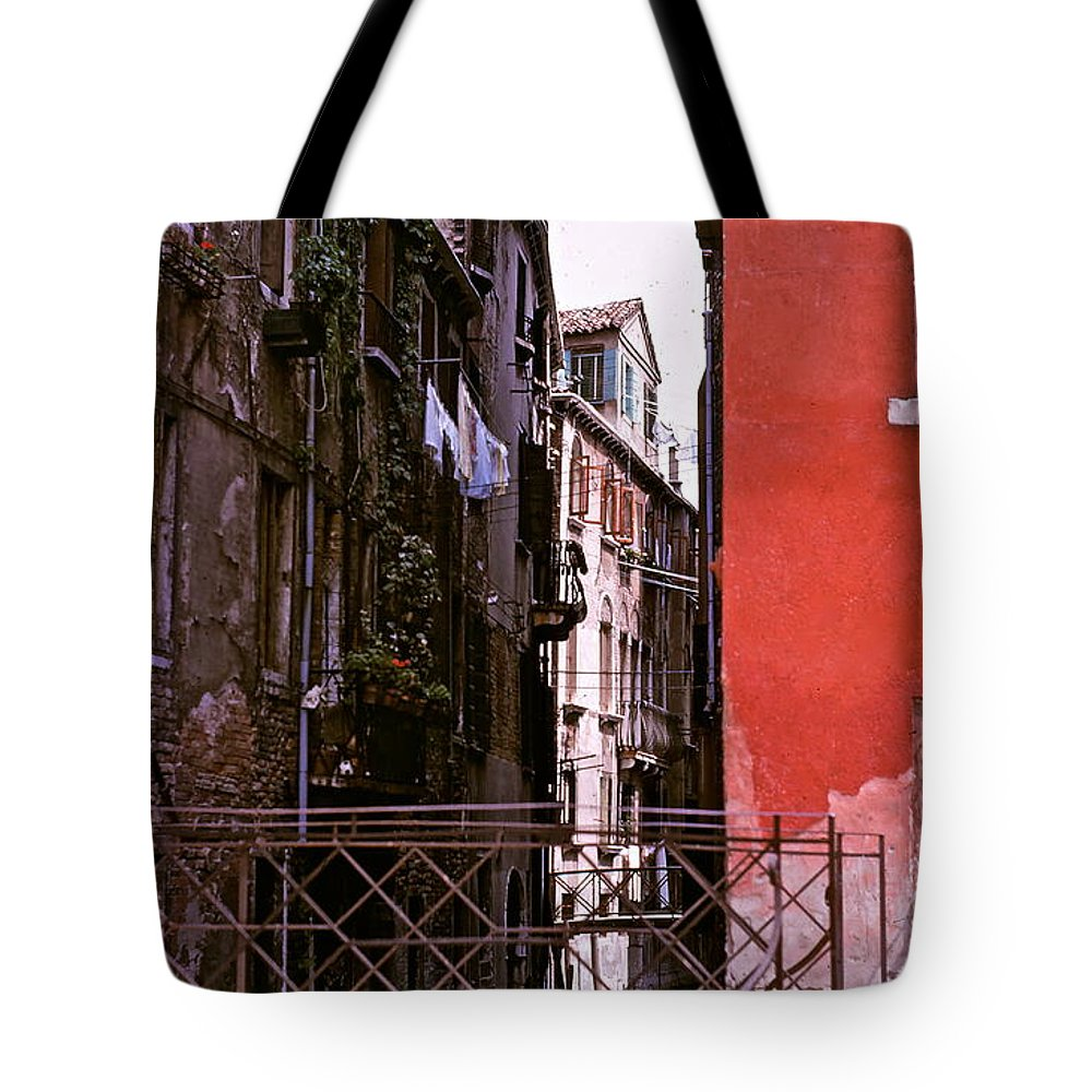 Venice Tote Bag featuring the photograph Venice by Ira Shander