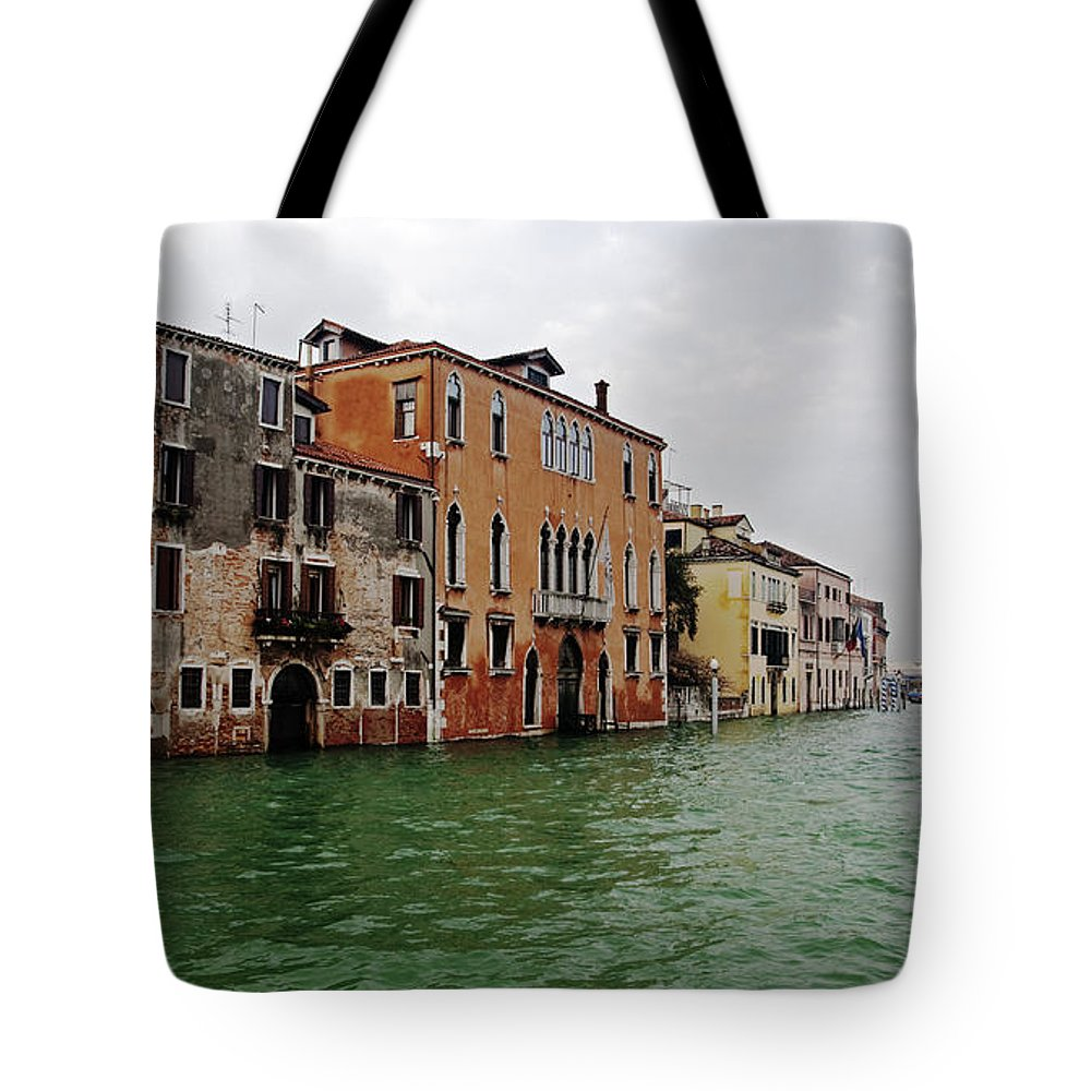 Italia Tote Bag featuring the photograph Venice by Sonny Marcyan