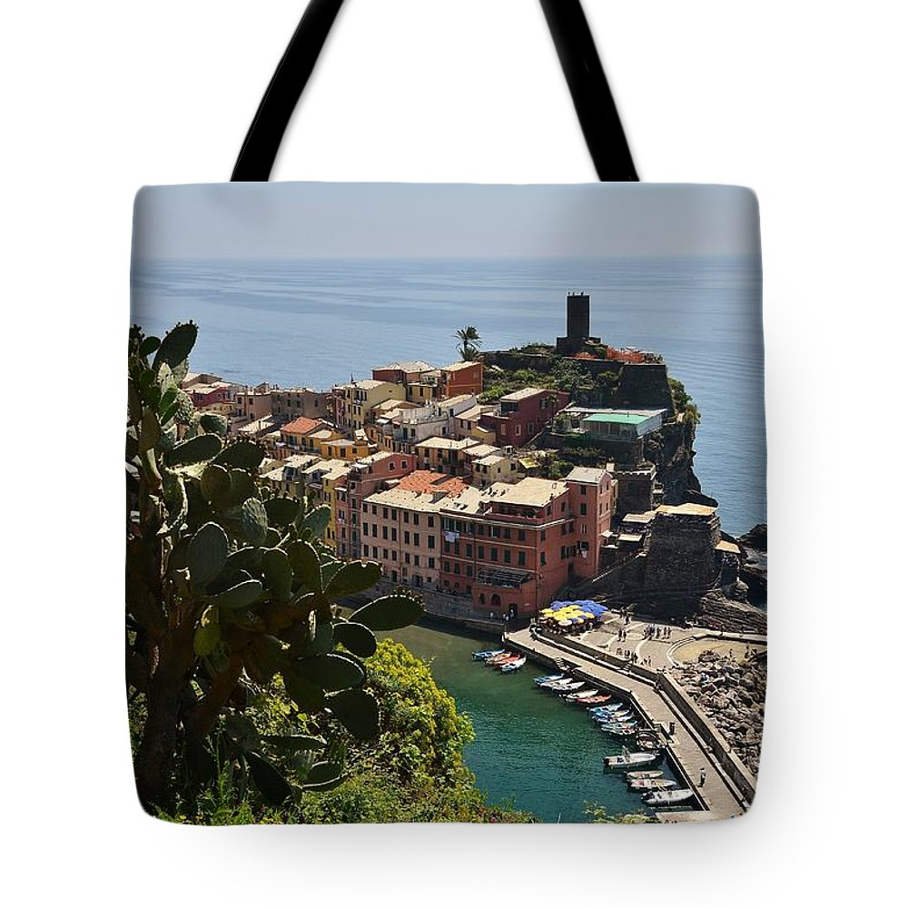 Vernazza Tote Bag featuring the photograph Vernazza - Cinque Terre by Dany Lison