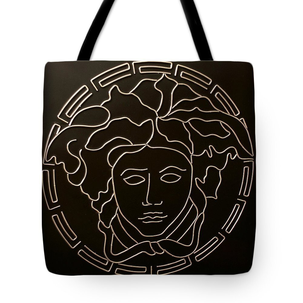 28eb52236 Versace Tote Bag featuring the mixed media Versace Medusa Head by Peter  Virgancz