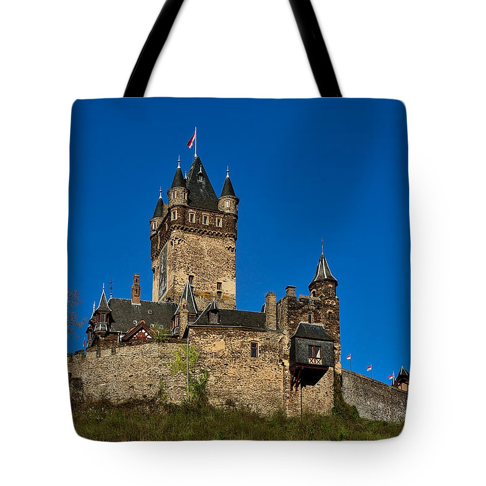 Cochem Tote Bag featuring the photograph Village Of Cochem by TouTouke A Y