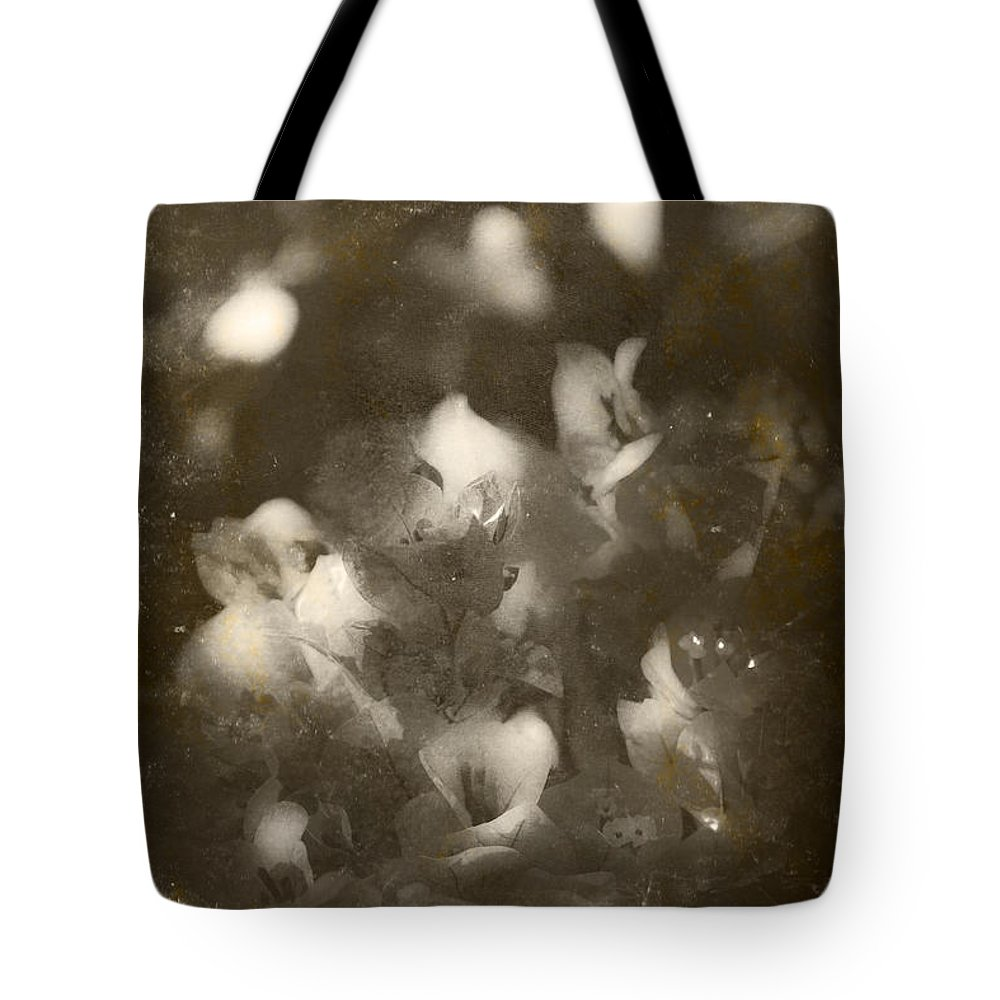 Closeup Tote Bag featuring the photograph Vintage Floral Background by Jorgo Photography - Wall Art Gallery