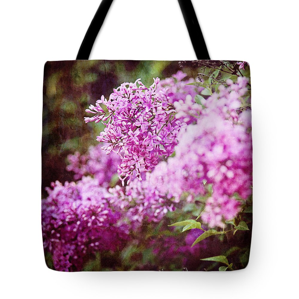 Nature Tote Bag featuring the photograph Vintage Lilac by Kamen Zagorov