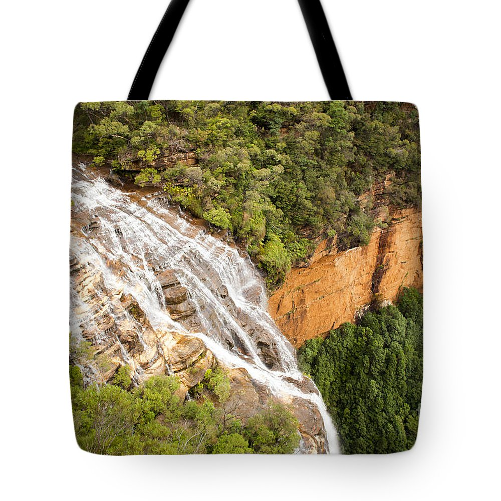 Australia Tote Bag featuring the photograph Waterfall Valley by Tim Hester