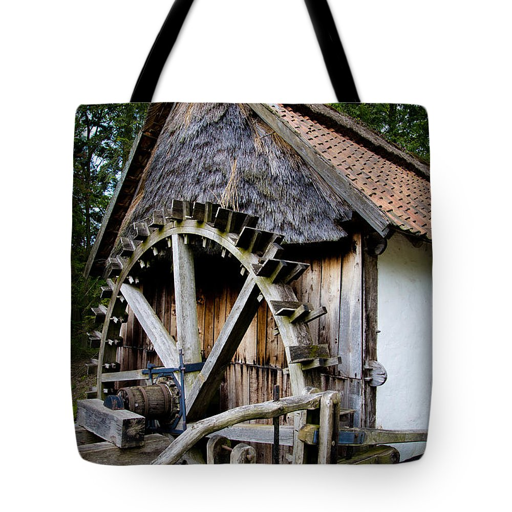 Old Watermill Tote Bag featuring the photograph Watermill by Brothers Beerens