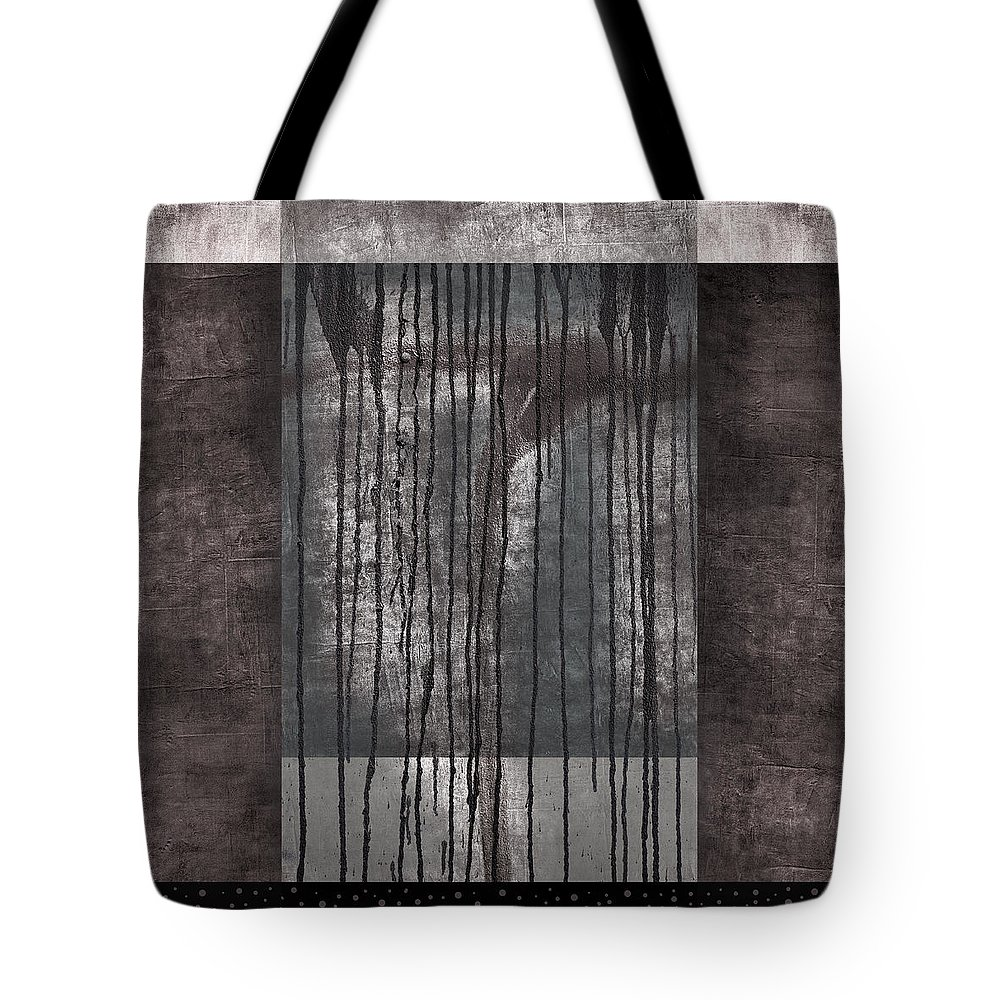 Watershed Tote Bag featuring the photograph Watershed Abstract by Carol Leigh