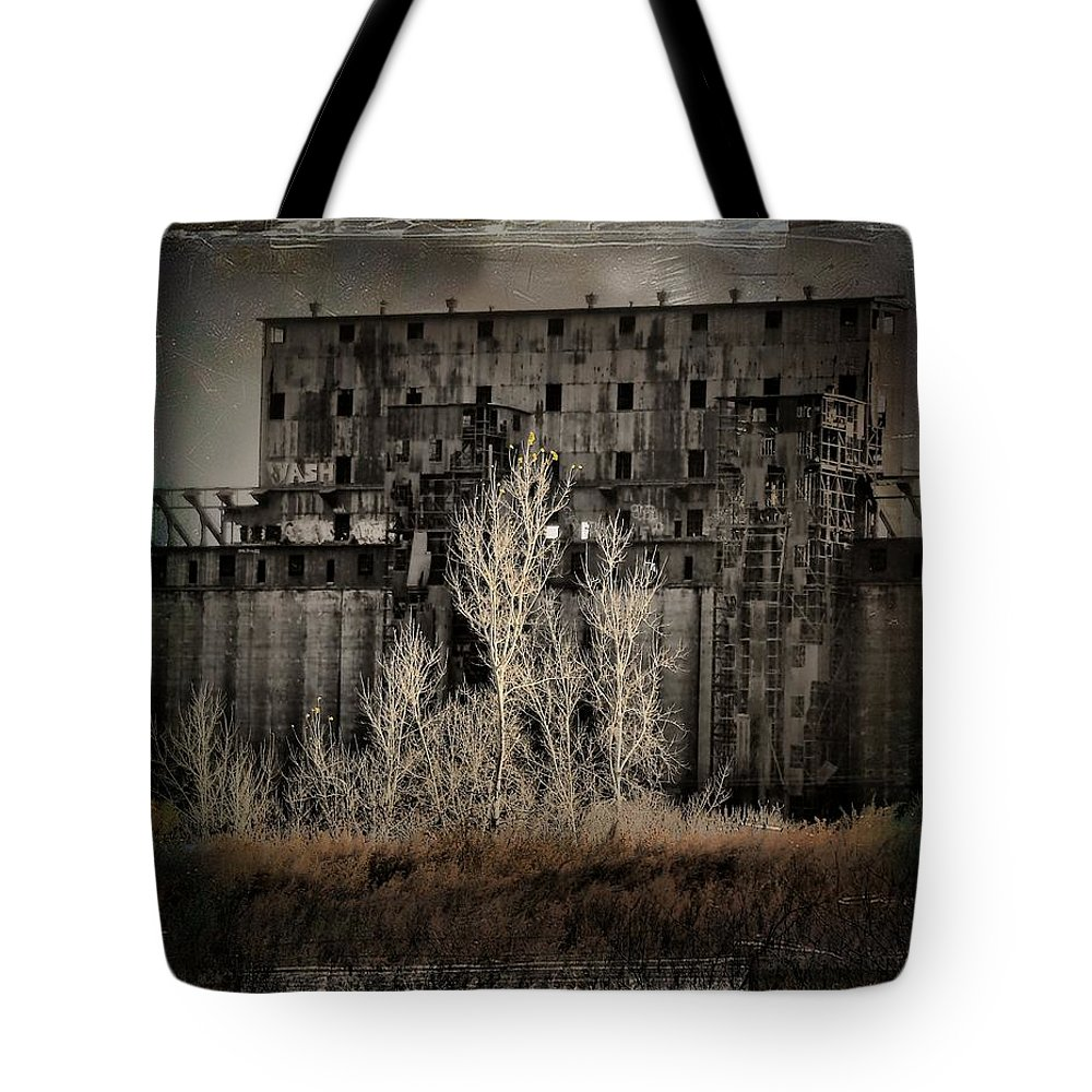 Abandoned Tote Bag featuring the photograph Weeds by Gothicrow Images