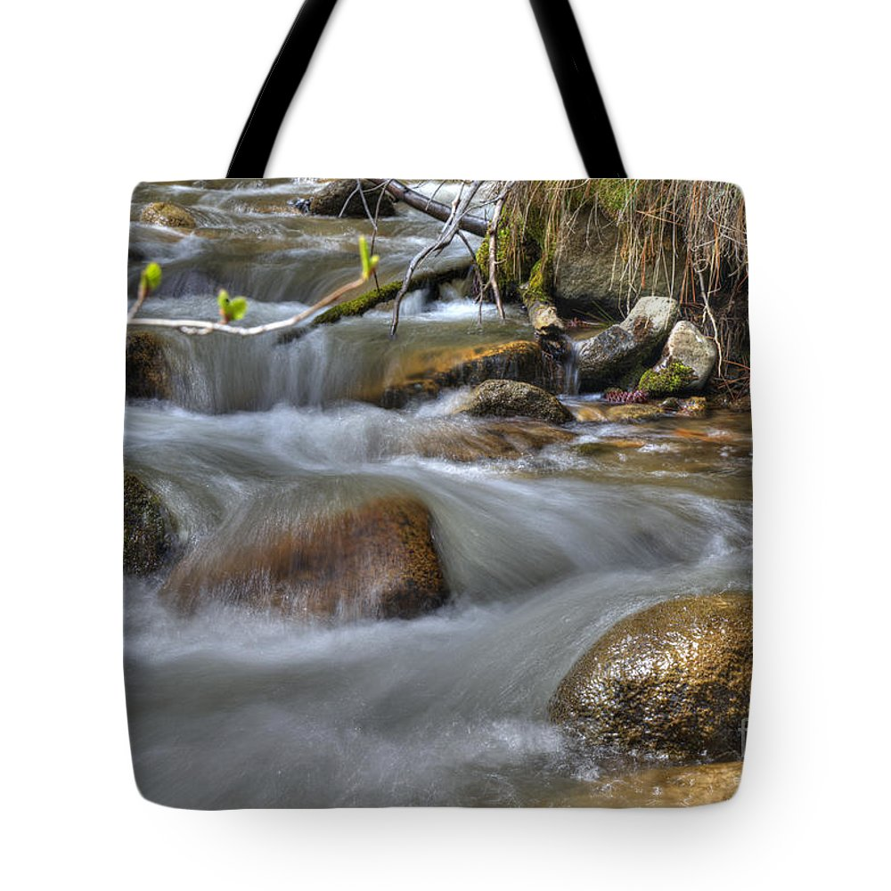 Creek Tote Bag featuring the photograph Whites Creek by Dianne Phelps