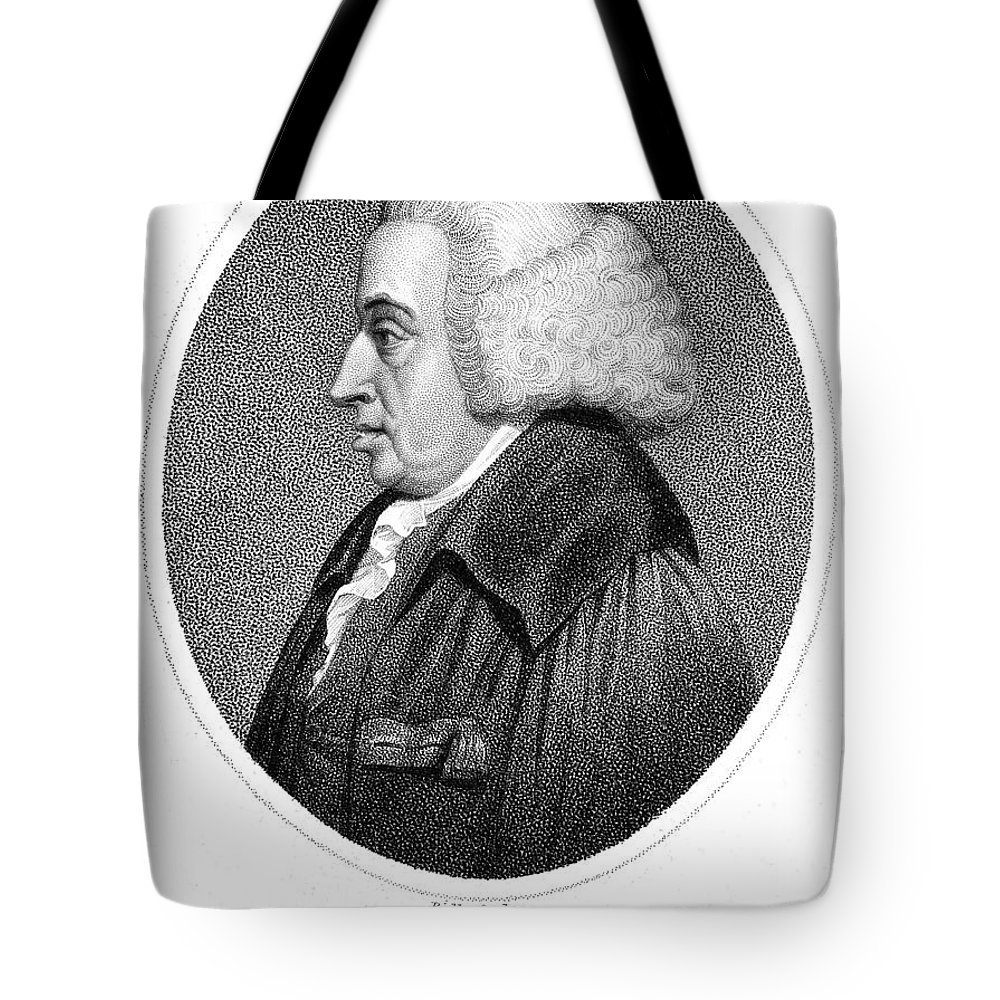 18th Century Tote Bag featuring the photograph William Cullen (1710-1790) by Granger