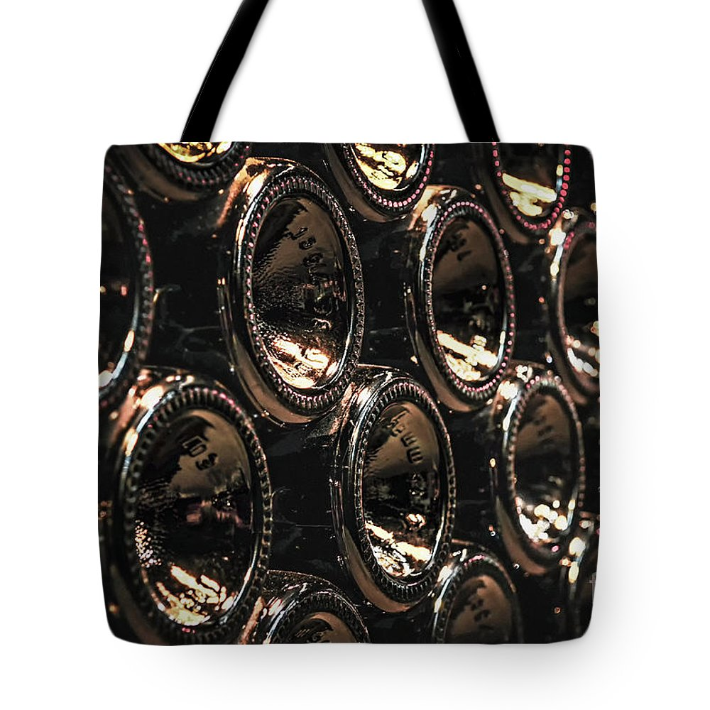 Bottle Tote Bag featuring the photograph Wine Bottles by Elena Elisseeva